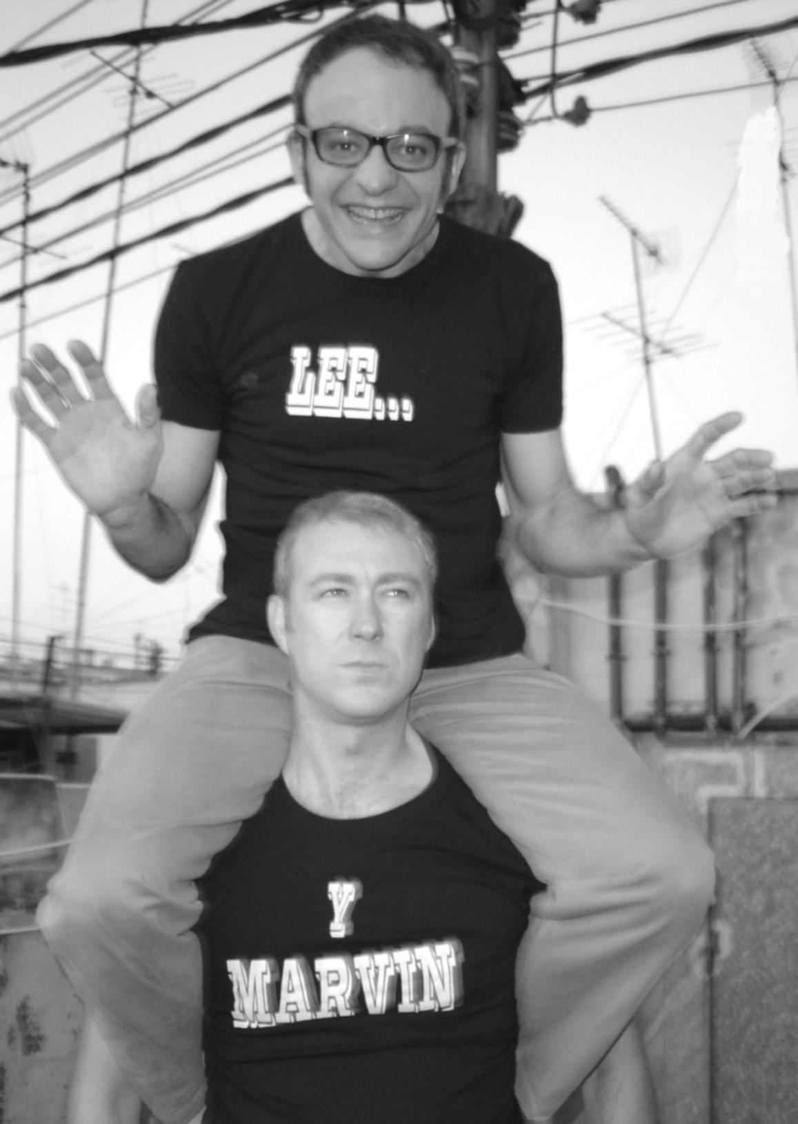 LEE y MARVIN  Lee Marvin
